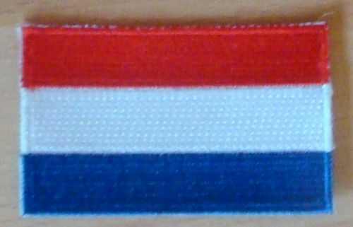 NETHERLANDS HOLLAND Country Flag Embroidered PATCH