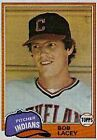 1981 Topps Bob Lacey #784 Baseball Card