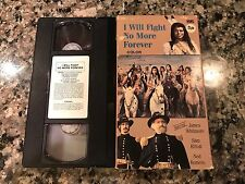 I Will Fight No More Forever VHS! 1975 TV Film! War Horse Fury Red Cliff A War