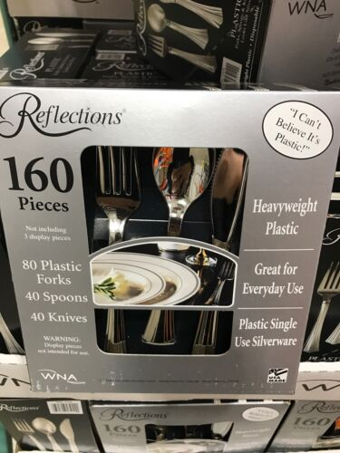 Lot Of 160ct Reflections Cutlery Kit Free Shipping