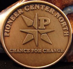 Recovery Bronze Token Coin AA Alcoholics Anonymous Pioneer Center North Sober BT