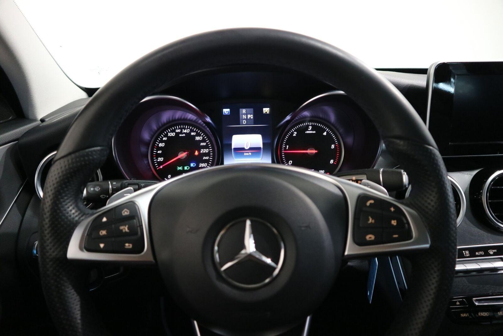 Mercedes C220 d 2,2 AMG Line stc. aut. - billede 7