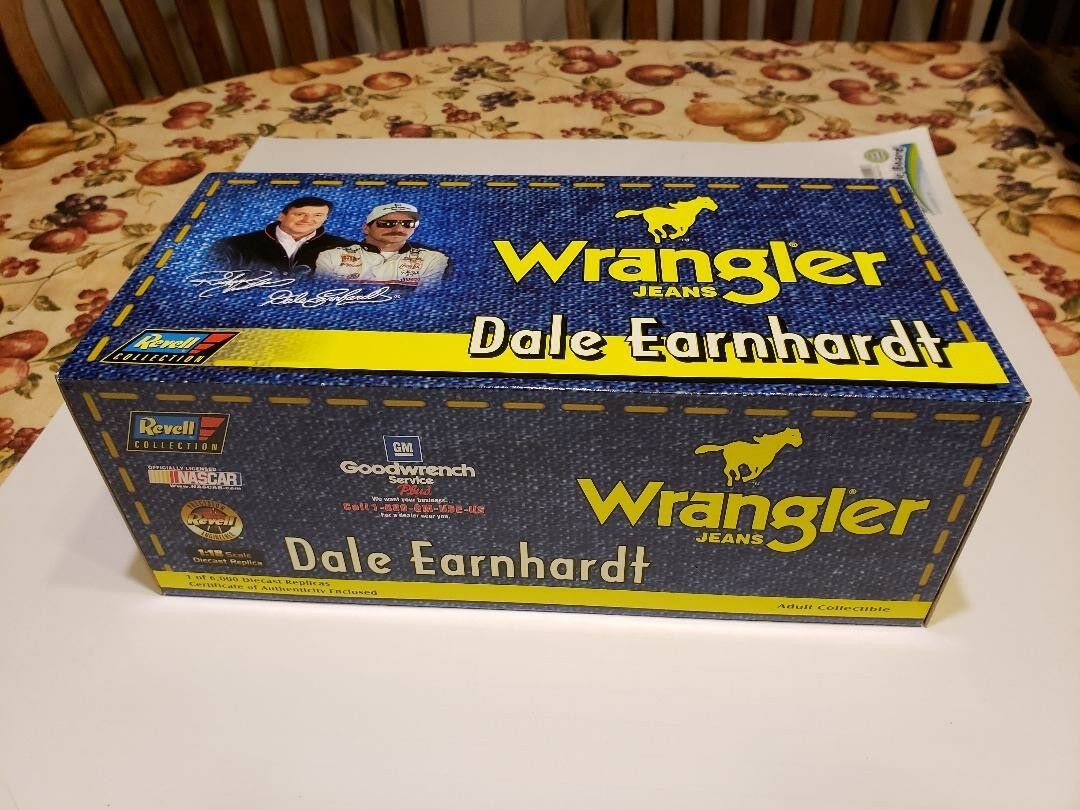 Dale Earnhardt 1 18 Scale Die Cast Wrangler Car, Limited Edition, COA