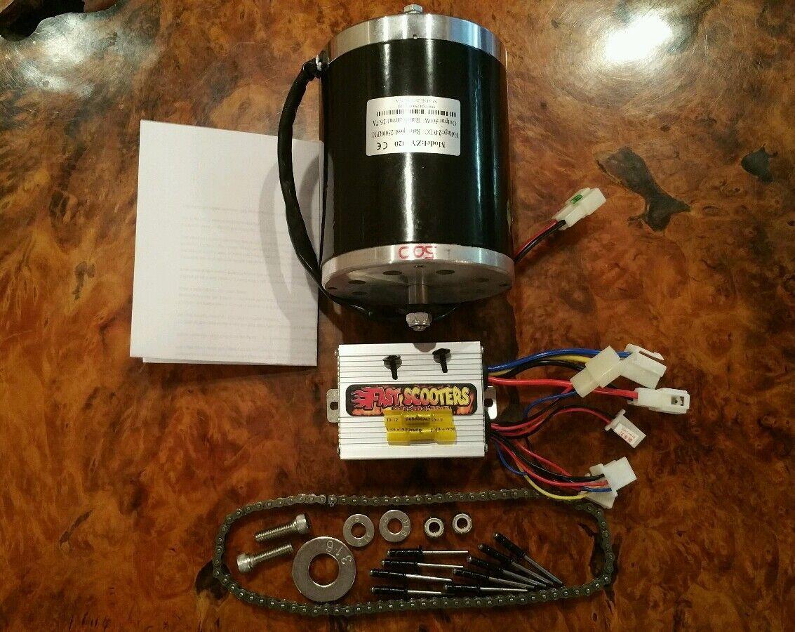 Cruzin Cooler 300 vatios de 500 vatios de motor swap Kit