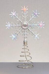 image is loading christmas led christmas tree topper star colour change - Led Christmas Tree Topper