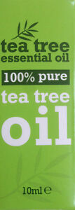 6 x 10 ml Bottles - 100 % Pure Tea Tree Essential Oil 10ml Antiseptic