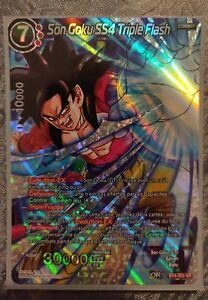 VF BT4-003 SPR ♦Dragon Ball Super♦ Son Goku SS4 Triple Flash
