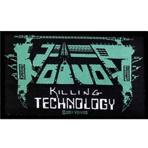 Voivod-Killing-Technology-Patch-Official-Heavy-Metal-New