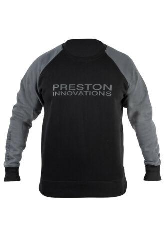 NOUVEAU grossier pêche Sweat Toutes Tailles Preston Noir Sweat-shirt