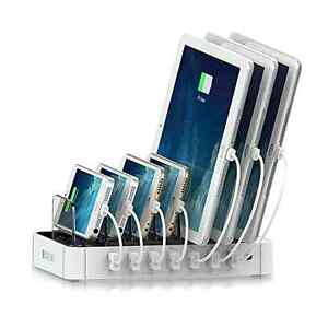 Delightful Image Is Loading Universal Multi Use 7 Port USB Charging Station