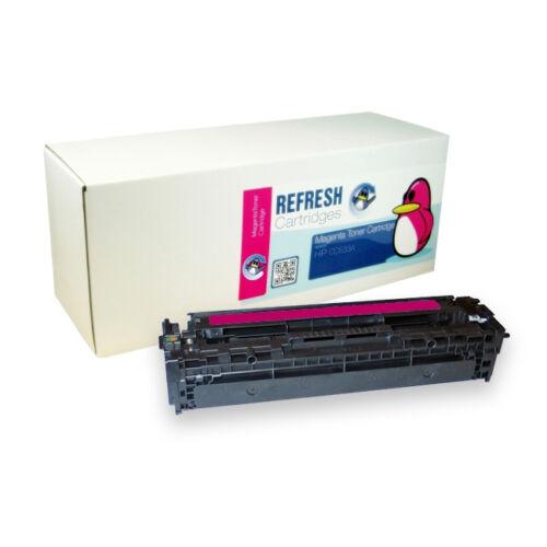 Wiederaufgearbeitet Hp 304A CC530A CC531A CC532A CC533A Farbe Laser Toner