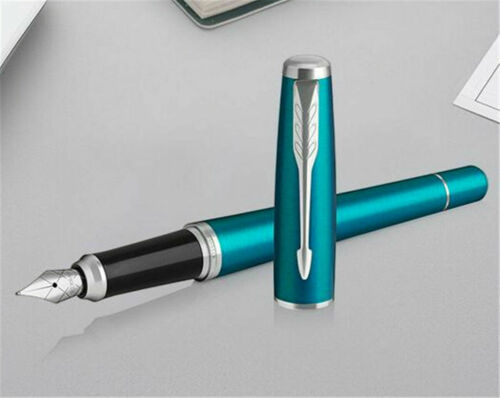 Excellent Urban Series Parker Pen Blue//White Clip 0.5mm Medium Nib Fountain Pen