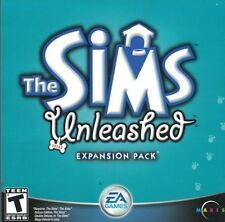 Sims Unleashed Expansion Pack in Jewel Case EA Games Simulation