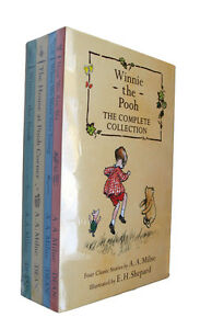 Winnie-the-Pooh-Complete-Collection-4-Books-Box-Set-Classic-Kids-Fiction-New