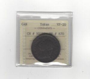 Canada-Token-NS2B2-Breton-870-ICCS-Graded-VF-20-Penny-Token