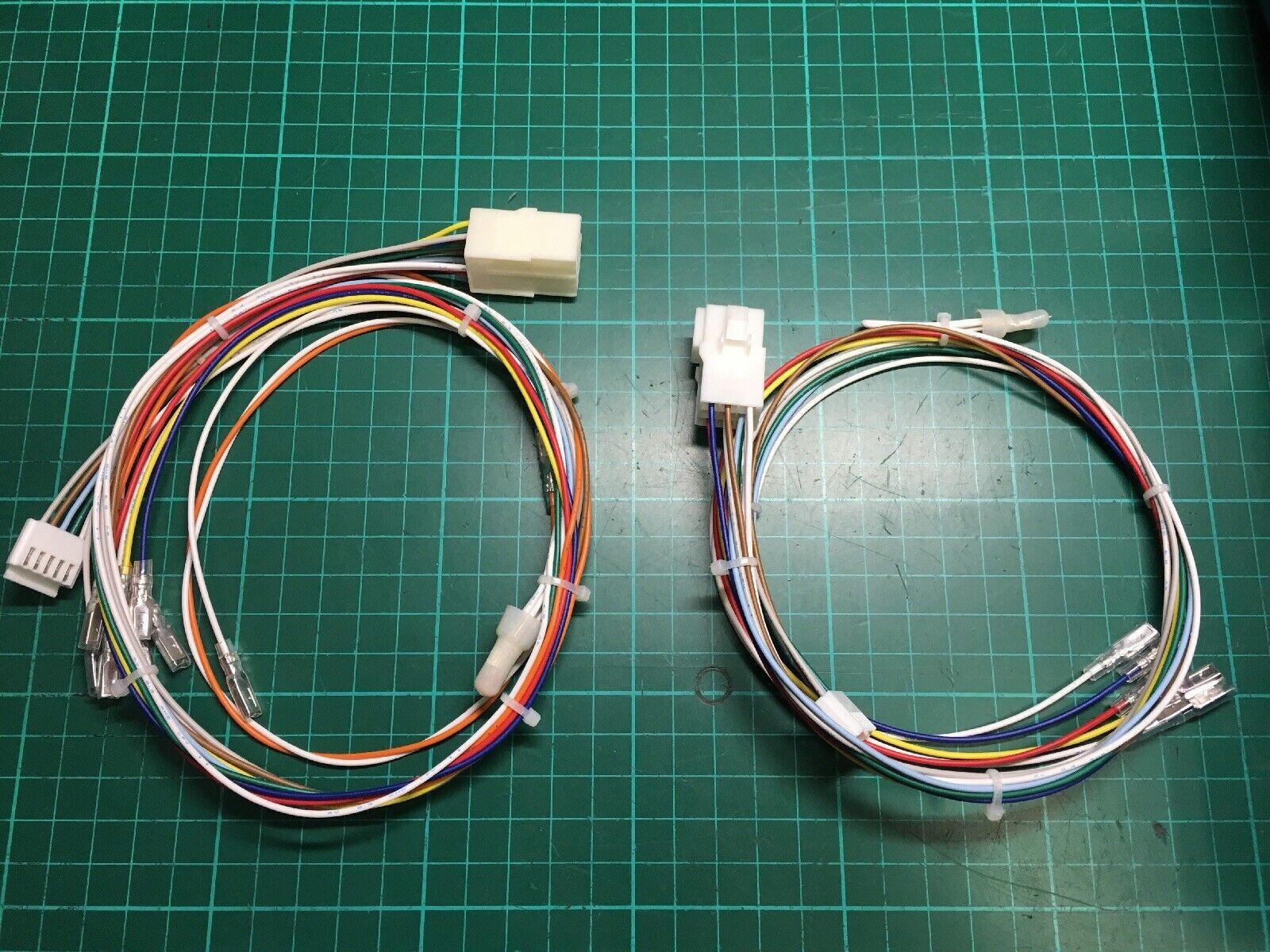 Kabel Paneel 2 Spieler 3 Schaltflächen Tecmo Kyotaro Anschlussklemme Bogen Jamma