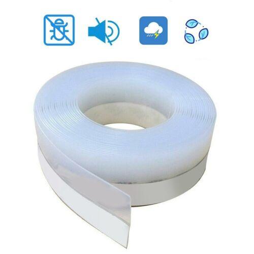 1m Door Window Silicone Seal Strip Self Adhesive Tapes Draft Stopper Gap Blocker
