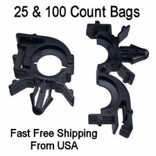 50pc Wire Loom Routing Clip Nylon Retainer Conduit Wiring Harness For GM 8911473