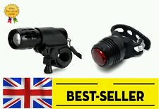 front rear lights set-mini ruby bright red lamp mountain road bike cycling