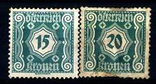 AUSTRIA-1922-Segnatasse