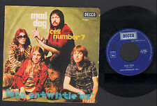 """7"""" JOHN ENTWISTLE & THE OX MAD DOG / CELL NUMBER 7 ITALY 1975 DECCA THE WHO"""
