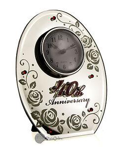 RUBY-WEDDING-ANNIVERSARY-GIFT-OVAL-MIRROR-40TH-CLOCK-17852