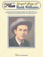 Gospel Songs Of Hank Williams Sheet Music E-z Play Today Book 000100093