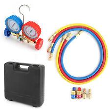 R410a R22 Manifold Gauge Set Ac Ac 5ft Color Hose Air Conditioner Hvac 60