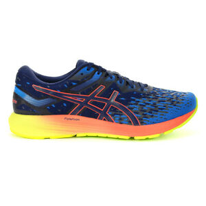 ASICS Men's Dynaflyte 4 Peacoat/Flash Coral Running Shoes 1011A549.400 NEW