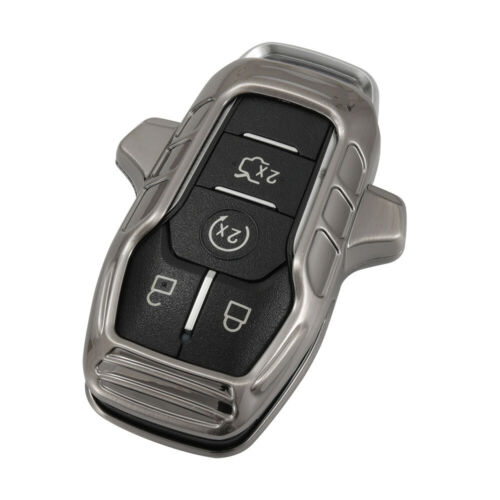 Metal Car Key Fob Case Cover For Ford F-150 Fusion Explorer Edge Mustang Lincoln