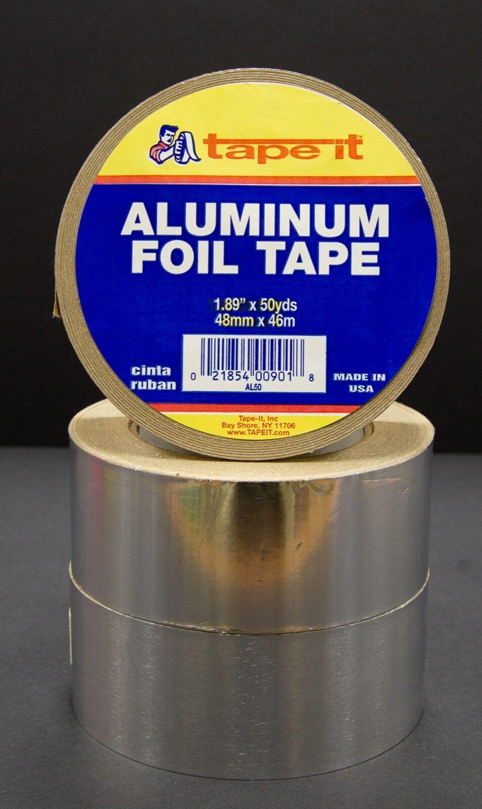 12 RLS - ALUMINUM TAPE - 1.89  X 50 YARDS - HVAC DUCT ( AL50 )