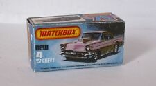 Repro Box Matchbox Superfast Nr. 4 57 Chevy