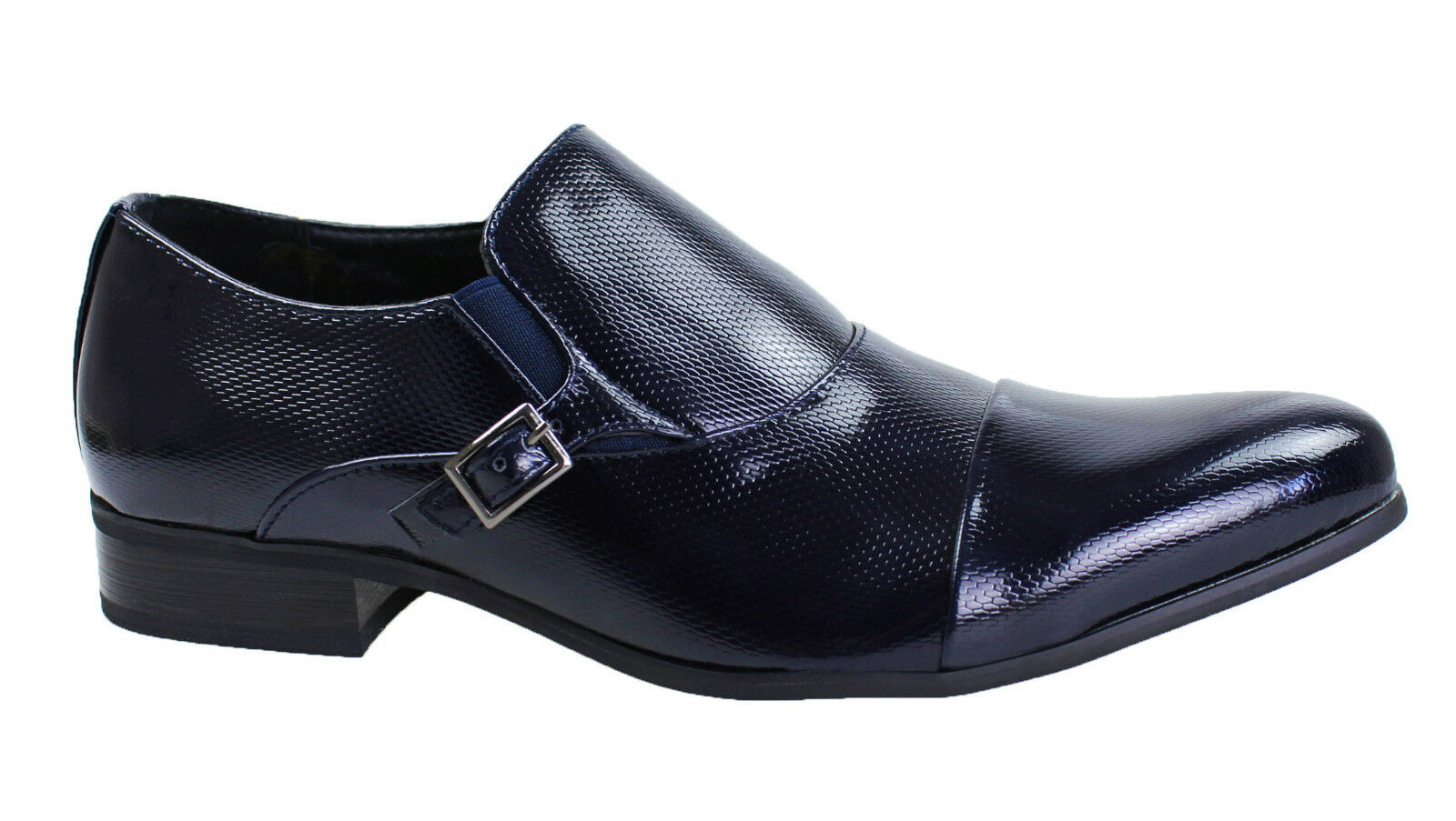 shoes men DIAMANT CLASS blue VERNIS ÉLÉGANT CÉRÉMONIE 40 41 42 43 44 45