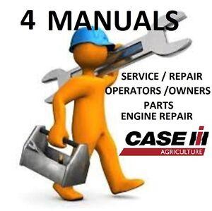 case ih 7220 magnum tractor 4 manuals service schematics owners rh ebay com Case IH 8950 Case IH MX 200