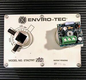 Enviro-Tec ETACTRT Honeywell 201052B High Temperature Dual Switch Assembly