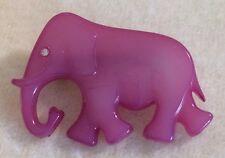 Vintage Pink/Purple Buch + Deichmann Denmark Elephant Pin!