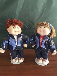 Olympic Cabbage Patch Kids 1996 Olympikids Porcelain Dolls Cpk Danbury Mint Ebay