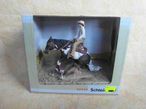 Schleich 42036 Western jinete caballo cowboyovp nuevo embalaje original