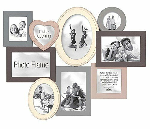 Innova Editions Multi-Aperture Picture Photo frame, 52.5x40cm, Madeira II