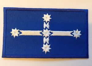 EUREKA-FLAG-Aussie-Patriotic-IRON-ON-SEW-ON-PATCH-Aussie-Seller
