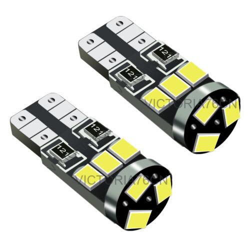2Pcs White LED Side Light Beam Bulb Canbus Parking Beam For Ford Focus C MAX