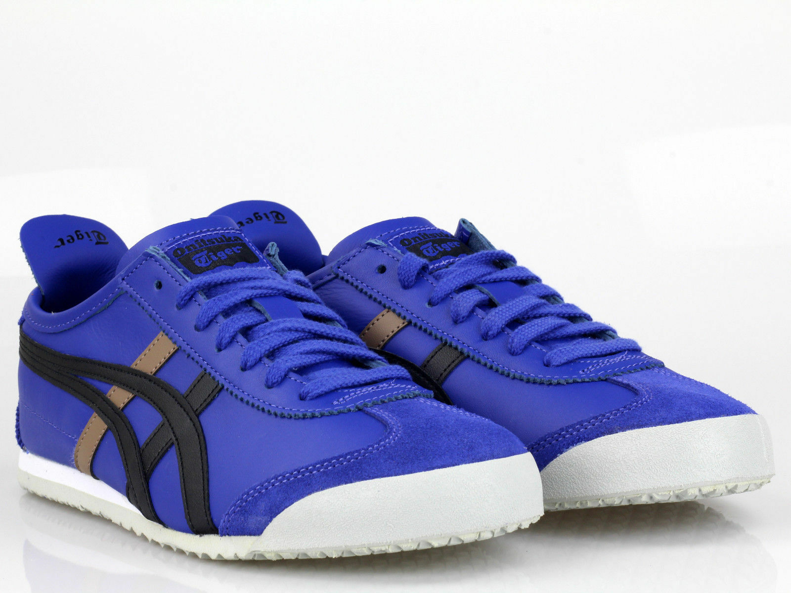 Asics Onitsuka Tiger Mexico 66 Schuhe Sneaker Blau Schwarz D4J2L-4590