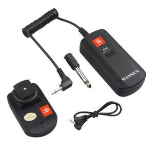 Wireless-Flash-Trigger-Empfaenger-Set-DC-04-4-Kanal-Fuer-Canon-Nikon-Strobe