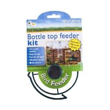 2 x Pack of 2 Hanging Bottle Top Bird Feeder Seed Kit Recycled Plastic Bottle