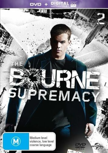 1 of 1 - The Bourne Supremacy (DVD, 2016)