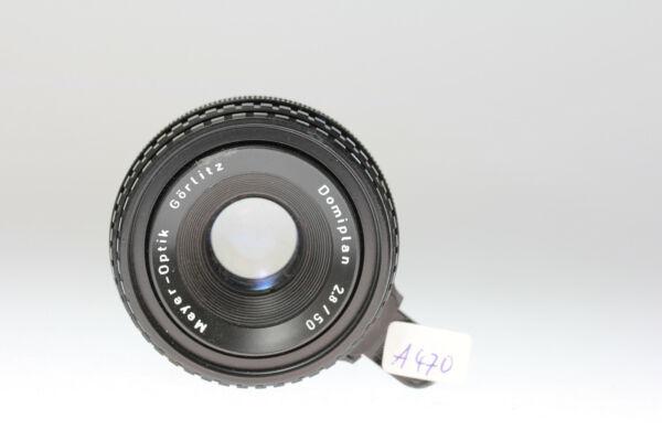 Bien Meyer Optik Görlitz Domiplan 2,8/50 Exakta-port Divers Styles