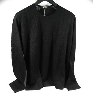 Key Talla Mens 54 Hecho Us Sweater en Italia Black It Greek Knit Xl 320000211191 Verri qERfXR