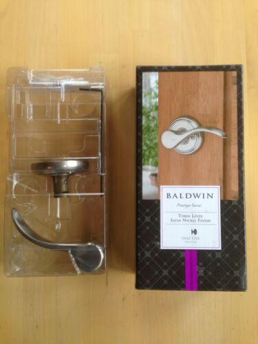 Tobin Lever,Satin Nickel Finish,Right Baldwin Prestige Series Inactive dummy