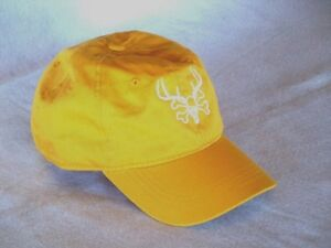 READING FARMS USA baseball cap hat Hunting white LOGO Dark Mustard ... df00f24807b