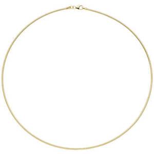 1-5mm-Halsreif-Omegareif-925-Silber-gelbgold-vergoldet-45cm-Halsschmuck-Damen